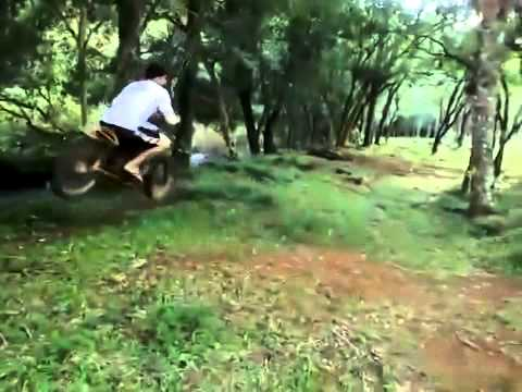 Motorcycle Rope Swing klip izle
