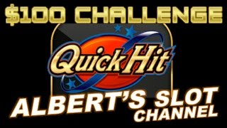 $100 QUICK HIT Slot Machine Challenge! (Dianaevoni, NYP13, Albert, Naomi, Slot Chick, & Slotvideos)