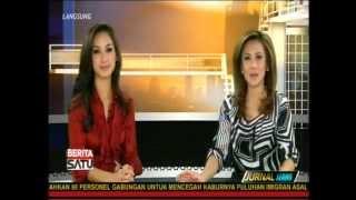 Jurnal Siang Olivia Marzuki & Amanda Cininta -Test Pack, Cloud Atlas Film at Berita Satu