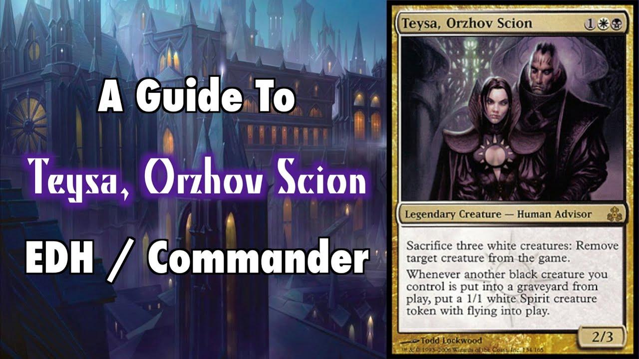 MTG - In Debt To Teysa - A Guide To EDH / Commander Teysa ...