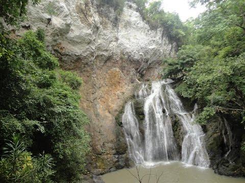 Kawasan Waterfalls in Bohol Philippines - Video by Myra