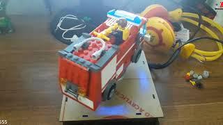 Motdenmuoi - Lego lắp ghép mô hình Xe cứu hỏa