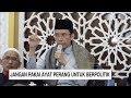 Pengamat: Ayat Perang di Ceramah TGB Bukan Hanya untuk Oposisi Pemerintahan Jokowi