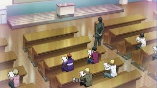 CHEATING IN EXAMS - Grand blue (episode 6)