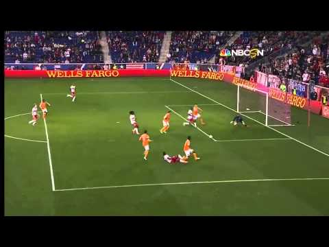 GOAL: Thierry Henry capitalizes off a deflection