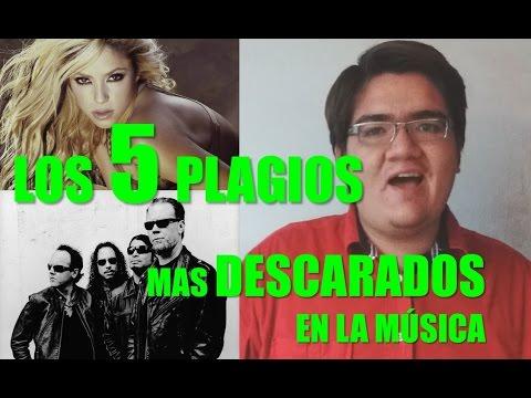 5 PLAGIOS MUSICALES MÁS DESCARADOS