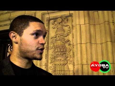 Trevor Noah Interview video