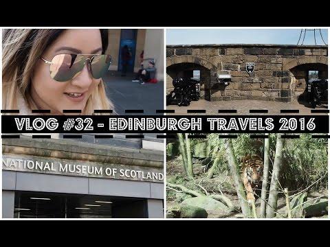 VLOG #32 - Edinburgh Travels 2016 | Raining Cake Blog