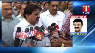 Minister Mahender Reddy Visits Pragnapur Road Accident Victims | Hyderabad  live Telugu