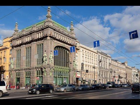 Интересные места Санкт-Петербурга - Елисеевский магазин