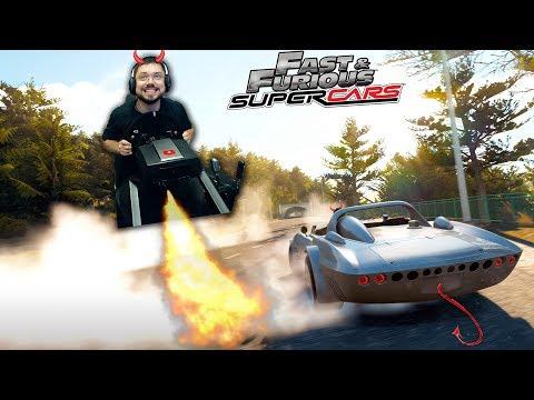 АНТИХРИСТ НА КОЛЁСАХ ИЗ ФОРСАЖА - Chevrolet Corvette Grand Sport C2 - Forza Horizon 2