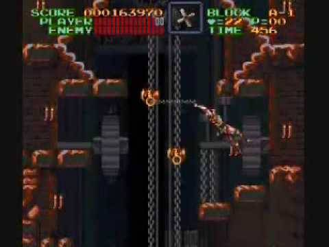 Let's Play Super Castlevania IV, Part 6: Click Clock Tower