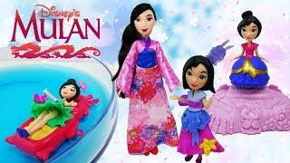 New Disney Mulan Toys from Hasbro - Disney Little Kingdom Princess Dolls