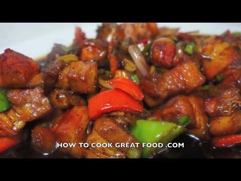 Chinese Sweet n Sour Pork Recipe - Wok cooking