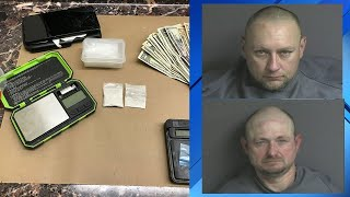 Two arrested, dugs seized as deputies investigate drug sales in Franklin County
