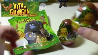 Vita da giungla alla riscossa | Les as de la Jungle | surprise eggs & blind bags
