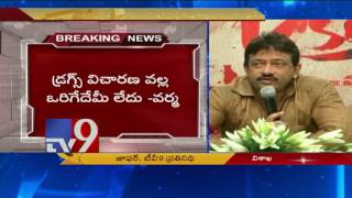 RGV sensational comments on Drugs Case