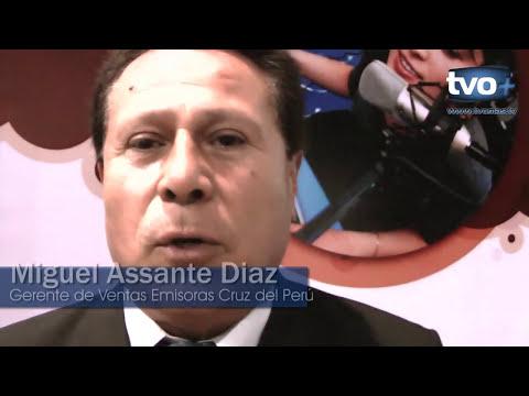 EMISORAS CRUZ DEL PERÚ PRESENTO SU SERVICIO CRUZ REPORT EN LA FERIA EXPO TIC 2012