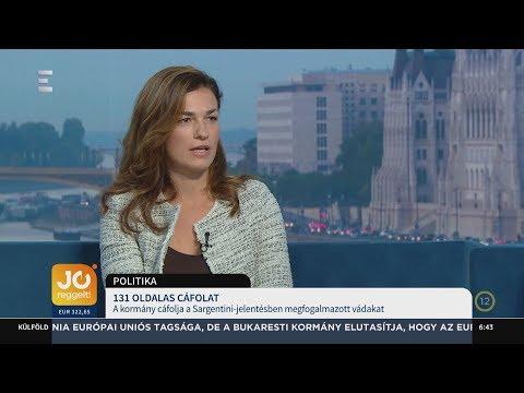 131 oldalas dokumentumban cáfolja a kormány a Sargentini-jelentés vádjait - Varga Judit - ECHO TV