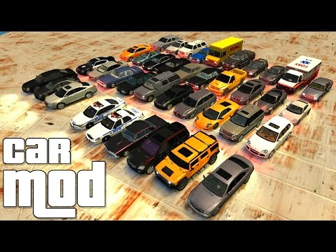 Grand Theft Auto IV - Ultimate Vehicle Pack [MOD] + Download