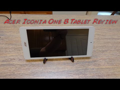 Acer Iconia One 8 Tablet Review