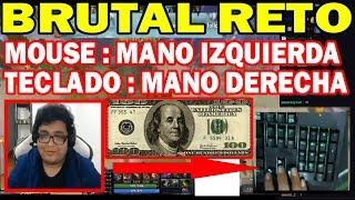EL RETO MAS LOCO A SMASH MOUSE MANO IZQUIERDA POR 100 DÓLARES | DOTA 2 COSAS
