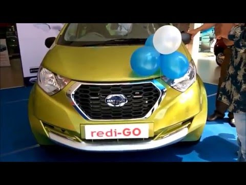 Datsun Redi Go - You thought Renault KWID is Best - Now its Time to change your mind