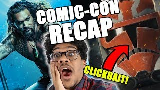Comic-Con Trailer Recap (Clone Wars Season 7 Reaction)