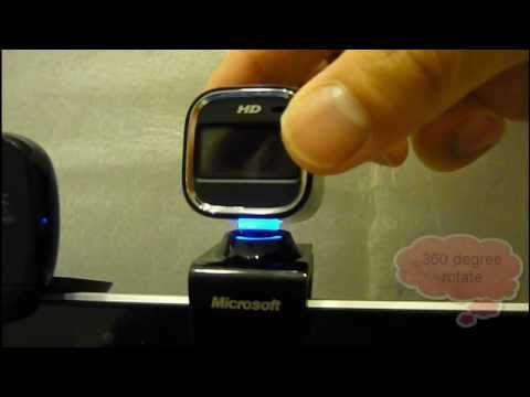 Microsoft Lifecam HD-6000 vs Logitech HD Webcam C510 comparasion by ivsreview