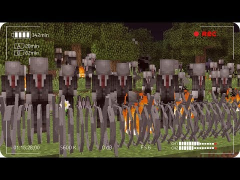 APOCALIPSIS DE SLENDERMAN EN MINECRAFT | RETO DE LA BASE VS APOCALIPSIS EN MINECRAFT