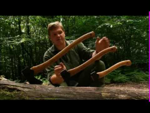 Ray Mears Bushcraft - Choosing and Using an Axe