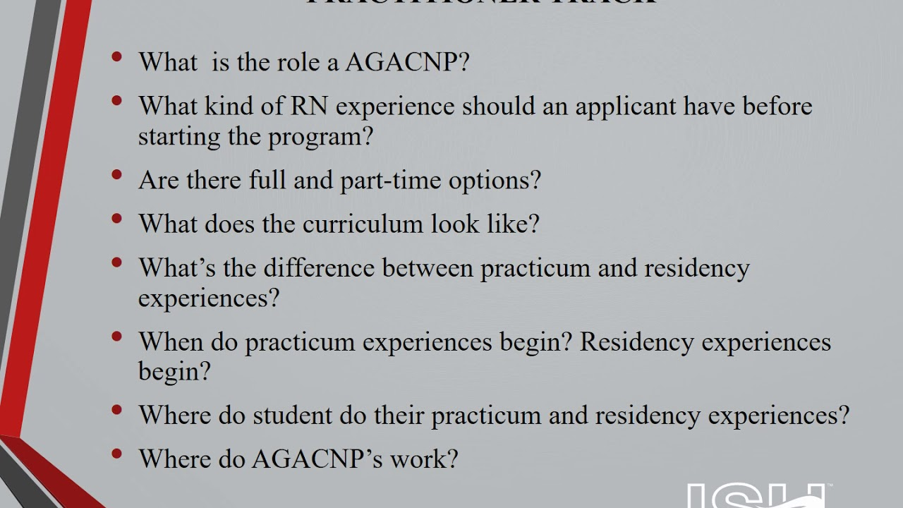Adult Gerontology Acute Care Nurse Practitioner Program