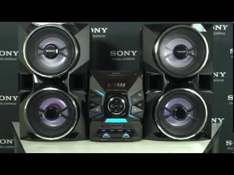 Sony LBT GPX77 Home Audio System Walkthrough
