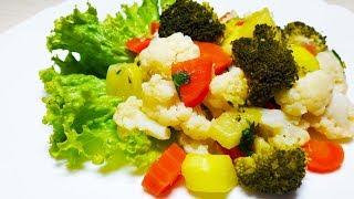 Овощное рагу без воды / Правильное питание
