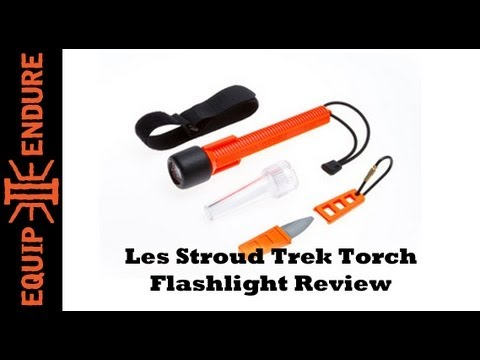 Les Stroud Trek Torch Flashlight Review by Equip 2 Endure