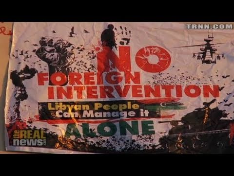 Liberated Libya Rejects US Intervention - TRNN EXCLUSIVE
