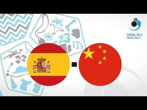 Spain - China, Group A females - WUC Futsal 2014