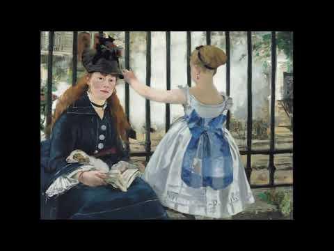 """Édouard Manet'nin """"Saint-Lazare Garı (Demiryolu)"""" İsimli Tablosu (The Railway)"""