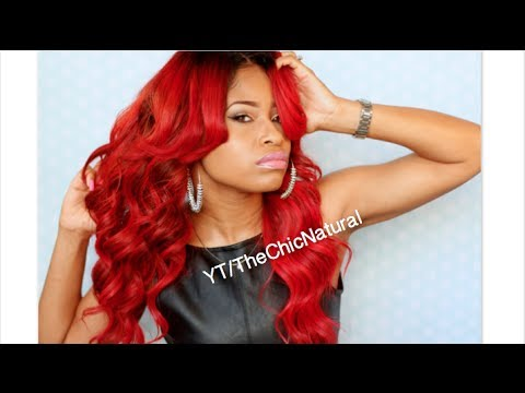 HOW TO: My Bright FIRE RED Haircolor! DIY