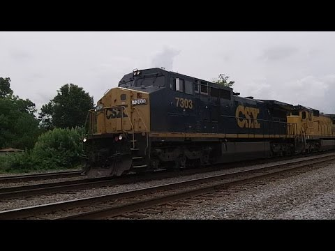 Solo Railfanning Bald Knob AR 6-6-14 Part 1