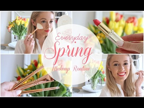 EVERYDAY MAKEUP ROUTINE : Spring Edition       Fashion Mumblr