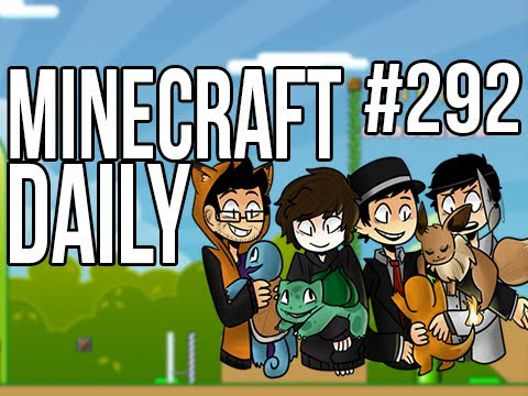 Minecraft Daily | Ep.292 | Ft. Kevin, ImmortalHd and Steven | A new Pokemon Master :( – 2MineCraft.com