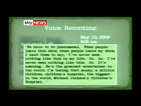 Michael Jackson Propofol Recording