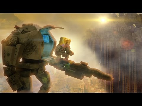 Titanfall in Minecraft Animation - FrediSaalAnimations