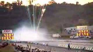 """NHRA """"Greatest quarter mile pass of all time"""""""