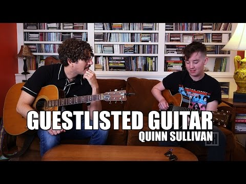 Guestlisted Guitar: Quinn Sullivan Talks Playing the Blues