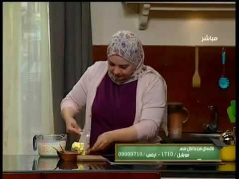 طريقة عمل عجينة الكريمة مع الشيف سارة عبدالسلام سنة اولي طبخ