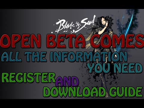 Blade and Soul China - Register and Download Guide - Open Beta Test HD