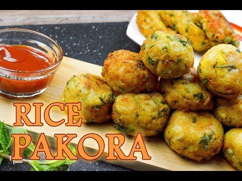 রাইস পাকোড়া রেসিপি | Rice Pakora Recipe | ইফতার স্পেশাল রেসিপি | Crispy Rice Cutlet Recipe Bangla