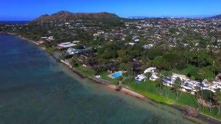 Kahala Ave Luxury Homes - An Aerial Tour
